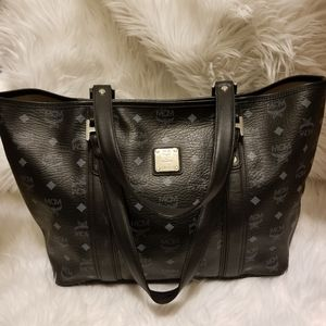 Mcm shoppers bag